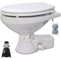 Quiet Flush Electric Toilet - Regular Bowl