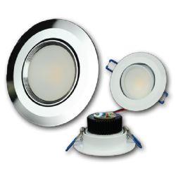 "3-1/2"" Swivel Recessed COB LED, Second Gen"