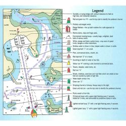Legend Detail of Maptech Chart Symbols and On-the-Water Guide