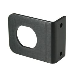 angled view of Marinco Mounting Bracket for SeaLink Receptacle