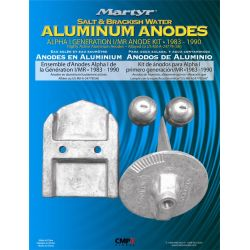 Alpha I Generation MerCruiser Anode Kit - Aluminum