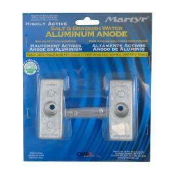 CM826134KITA of Martyr Aluminum Anode Kits - Mercury Force/Mariner