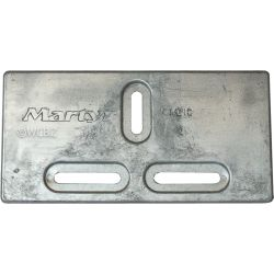 Diver's Dream Bayliner Slotted Plate Anodes - Zinc