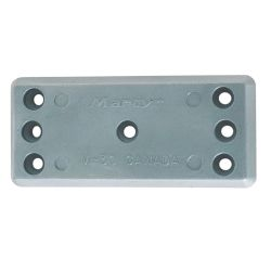 M30 Seven Hole Bolt On Plate Anode - Aluminum
