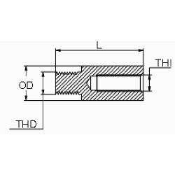 diagram of Martyr Volvo Penta 200-270 Series Pencil Anode - Zinc