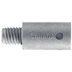 side view of Martyr Volvo Penta 200-270 Series Pencil Anode - Zinc