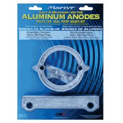 package of Martyr Volvo Penta 280 Dual Prop Anode Kit - Aluminum