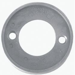 front view of Martyr Volvo Penta Medium Ring Anode - Aluminum