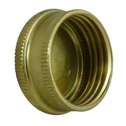 inside of Midland Metals Garden Hose Cap