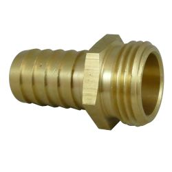 30042 of Midland Metals Garden Hose Male End Only - with Hose Barb