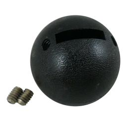 bottom view of Morse Controls MA Shift Control Replacement Knob - New Style Round