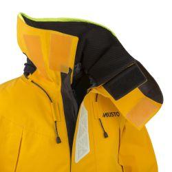collar of Musto HPX Goretex Ocean Jacket