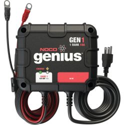 GEN1 Genius On-board Battery Charger, 1 Bank/10A