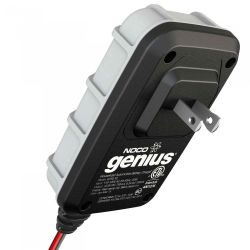 Rear View of Noco Genius G750 UltraSafe Battery Charger and Maintainer