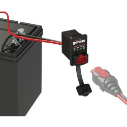 X-Connect 12 Volt Dashmount Battery Indicator