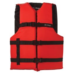 Red Version of Onyx Adult General Purpose Vest