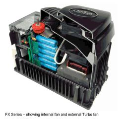 2500W FX-Mobile Series SW Inverter Charger - Sealed, 32V In, 120V Out, 35A