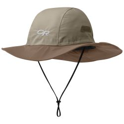 Khaki Front View of Outdoor Research OR Seattle Sombrero