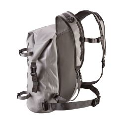 side view of Patagonia Stormfront Roll Top Pack