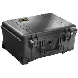 Pelican 1560 Case with Rolling Wheels - 2,800 Cu In