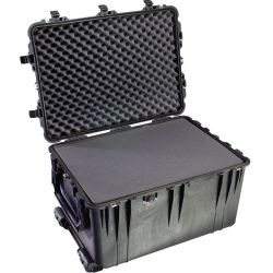 open case of Pelican 1660 Case with Wheels