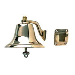 """Fig. 0150 Fog Bell - 12"""" Polished Cast Bronze"""