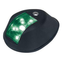 Fig. 602 LED Side Light - Starboard, Black