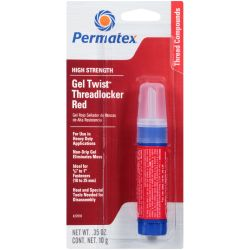 27010 of Permatex Threadlocker - Red