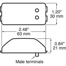 Replacement Clearance & Side Marker Light Diagram