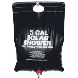 Solar Shower Kit - 5 Gallons