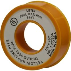 Yellow Gas Line Tape
