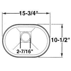 Basin Oval Sink