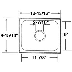 Rectangular Sinks