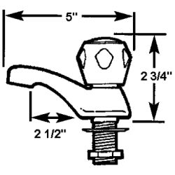 Single Cold Water Basin Faucets