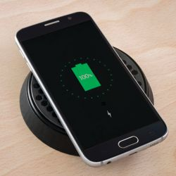 ROKK 12/24V DC Wireless Charger, Bezel Version