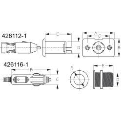 Power Socket 12-Volt