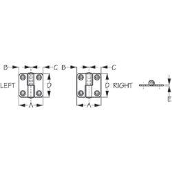 Take-Apart Hinge Diagram
