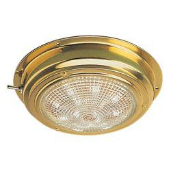 "Sea-Dog Line 5"" LED Brass Dome Light"