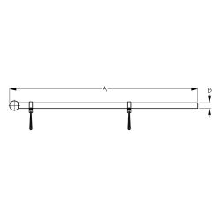 Adjustable Bow Form Flagpole