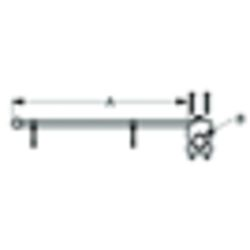 Adjustable Rail Mount Flagpole and Flagpole Holder