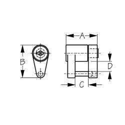 Coupler Lock - 2 Piece