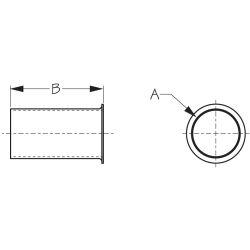 Drain Tube  -  Aluminum