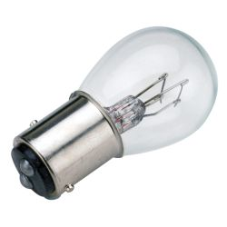 Sea-Dog Line No. 1157 Double Contact Bayonet Indexed Base Bulb - Dual Filament, 12V, 30W