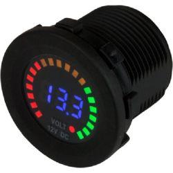 Rainbow Display Digital Voltmeter