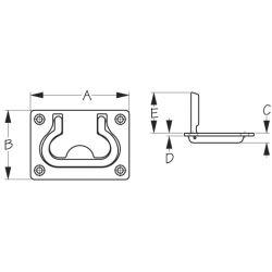 Flush Lift Ring