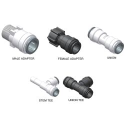 15mm Metric Series Quick Connect Plumbing System
