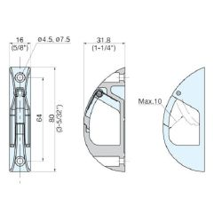 Latch Hooks - 316 Stainless Steel