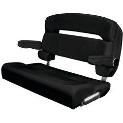 HA1 Series 36 in Capri Helm Bench Chair - Deluxe