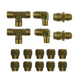 5593 of SeaStar Solutions SeaStar Add-A-Station Second Station Fitting Kit - Nylon or Copper Tubing