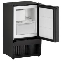 Open View of U-Line 14 Inch Marine Crescent Ice Maker